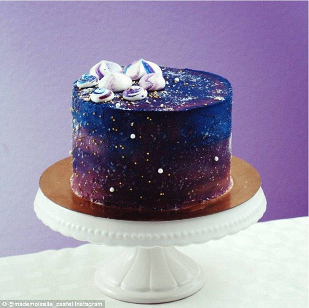 Stunning Space Themed Desserts From Night Sky Galaxy