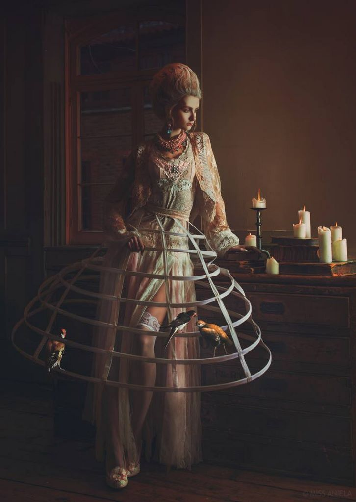 Surreal Fashion In Unique Photo Series Of Miss Aniela