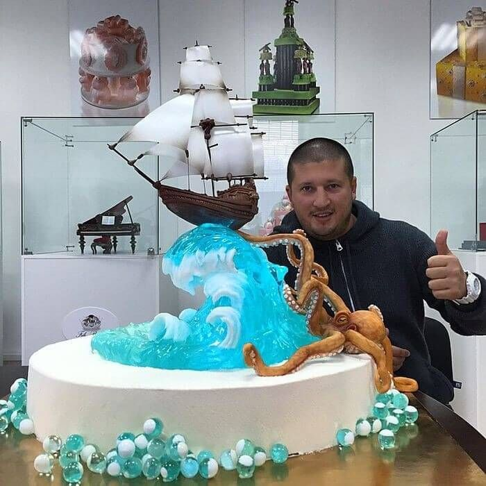 Fabulous Cakes From Russian Baker Boxer Look4ward