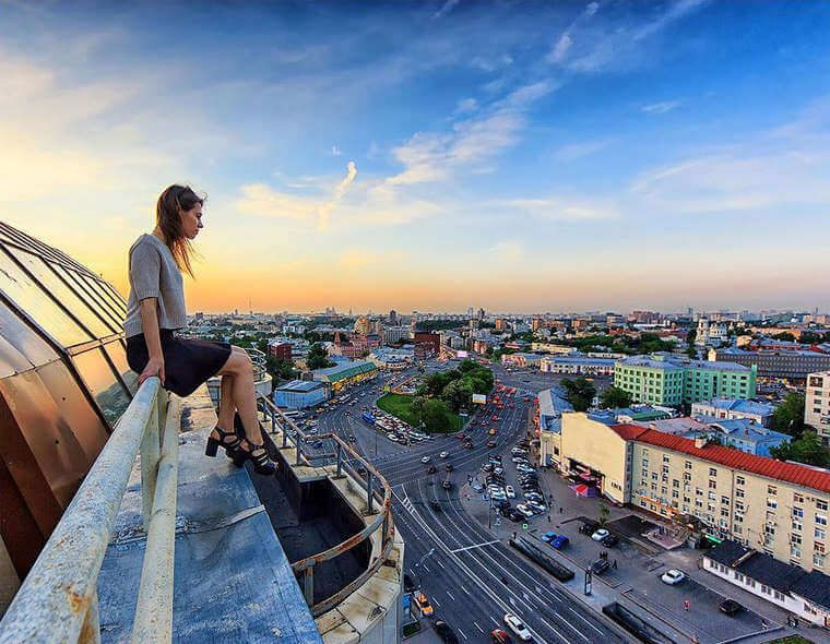 Breathtaking Pictures From Russian Rooftopper Look4ward