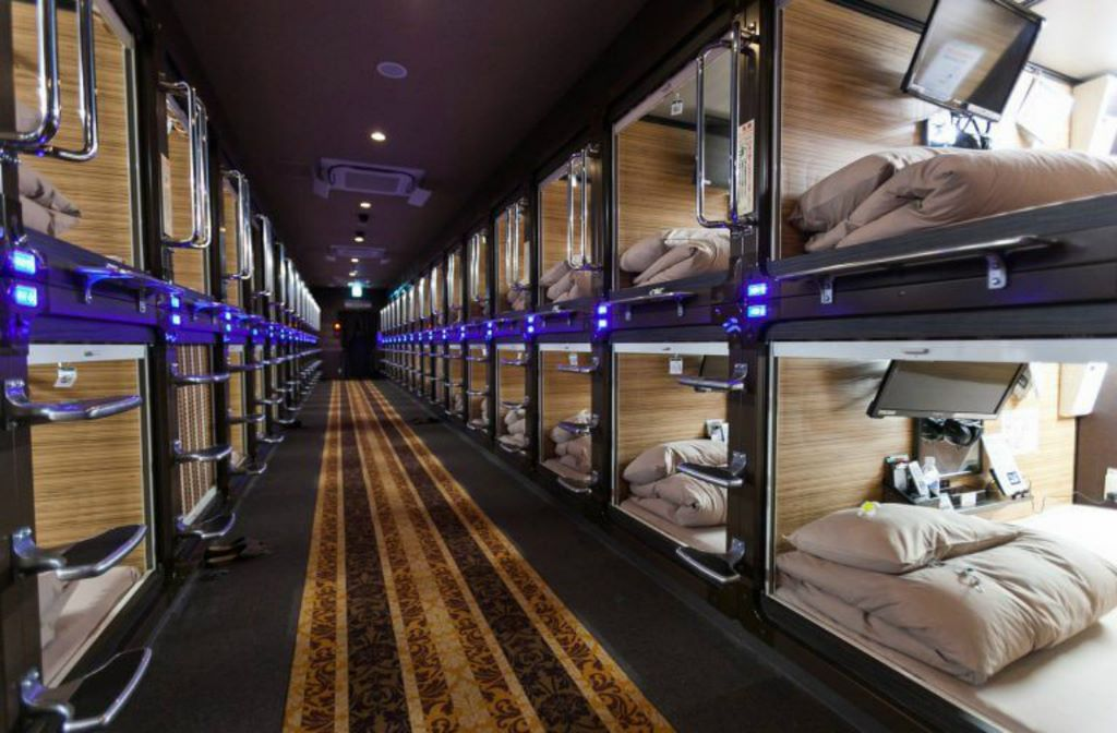 Capsule hotels are becoming a global trend look4ward for Top design hotels tokyo