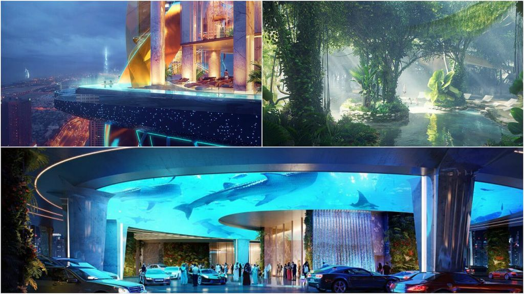 The over the top luxury hotel in dubai will have its own for Hotel de dubai