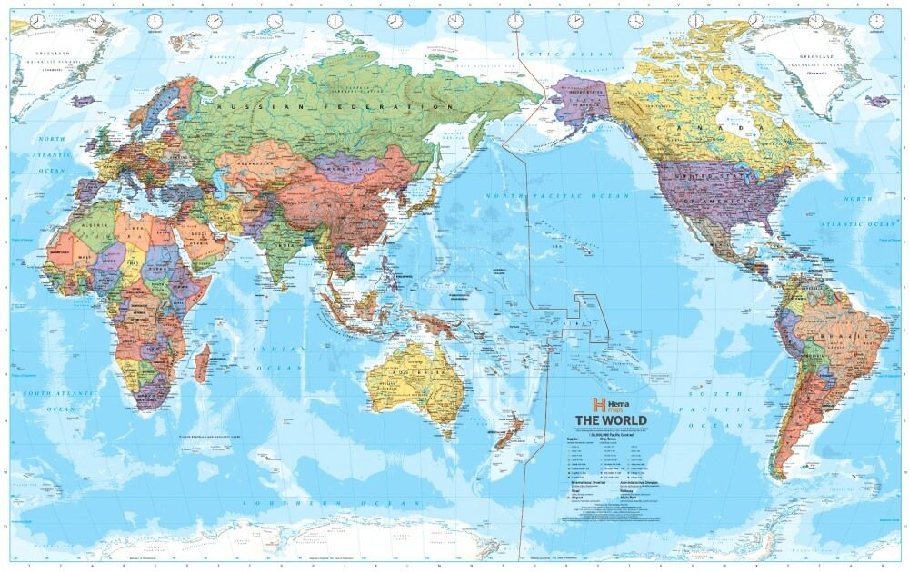 The World Map Through The Eyes Of Different Countries Lookward - World map west