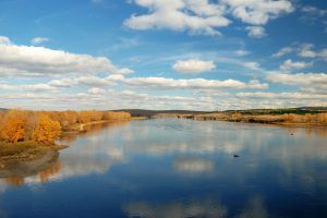 Yenisei river is the largest in Russia