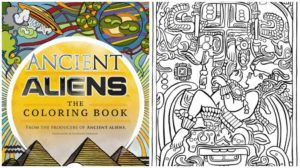 ancient aliens coloring book