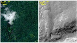 Remains Of mysterious Ancient Lost City Discovered Beneath A Forest