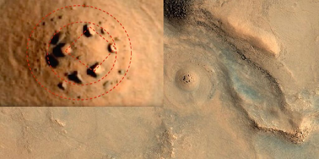 7 Of The Strangest Objects Seen On Mars