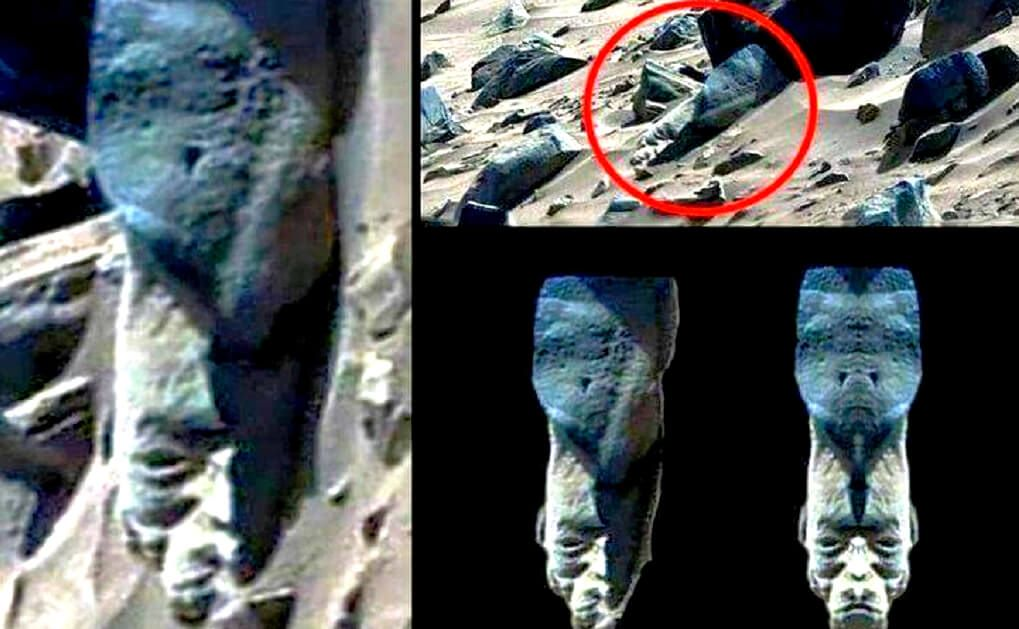 Another Bizarre Statue Found On Mars - Look4ward