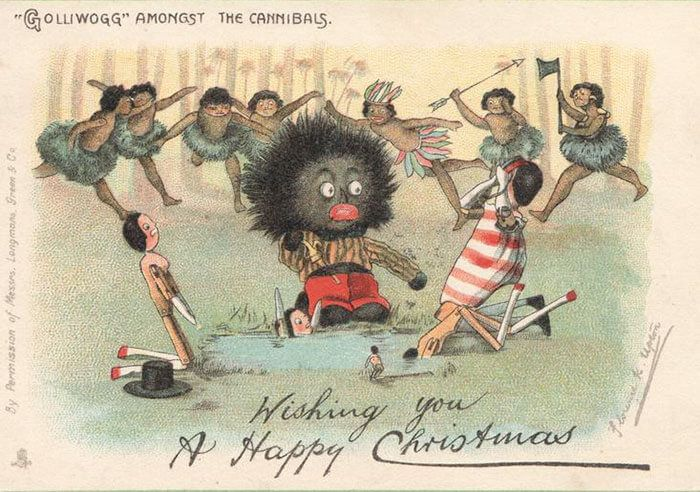 victorian christmas cards that are as creepy as those