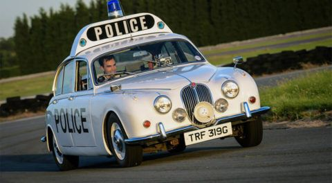 Police Vehicles Through The Years - Vintage Model Cars
