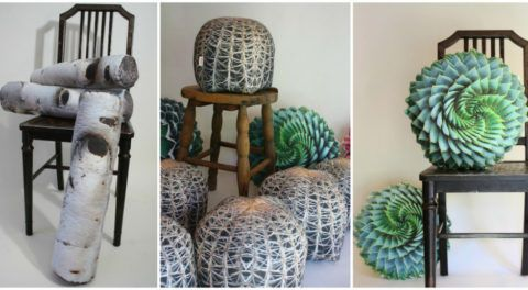 Realistic Plant Pillows Bring Beauty of Nature Into Your Home