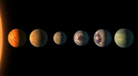 Everything You Need to Know About 7 Earth-Sized Planets Discovered By NASA