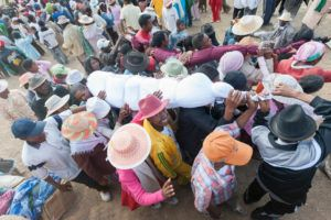 Famadihana: A Bizarre Ritual Of Digging Out The Dead Bodies And Dancing With Them