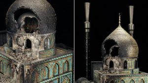 War And Peace: Religious Sculptures From Guns And Ammunition