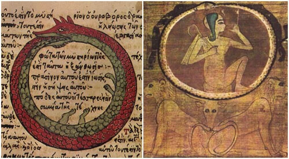 Ouroboros Ancient Symbol Of Infinity Used By Different