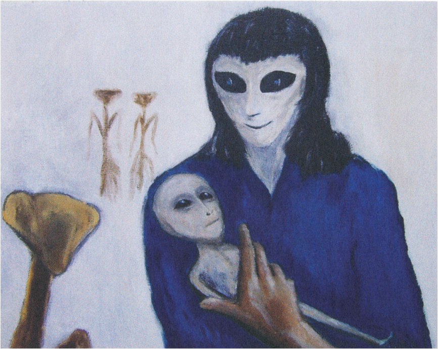 'I Lost My Virginity To An Alien': An Artist Claims