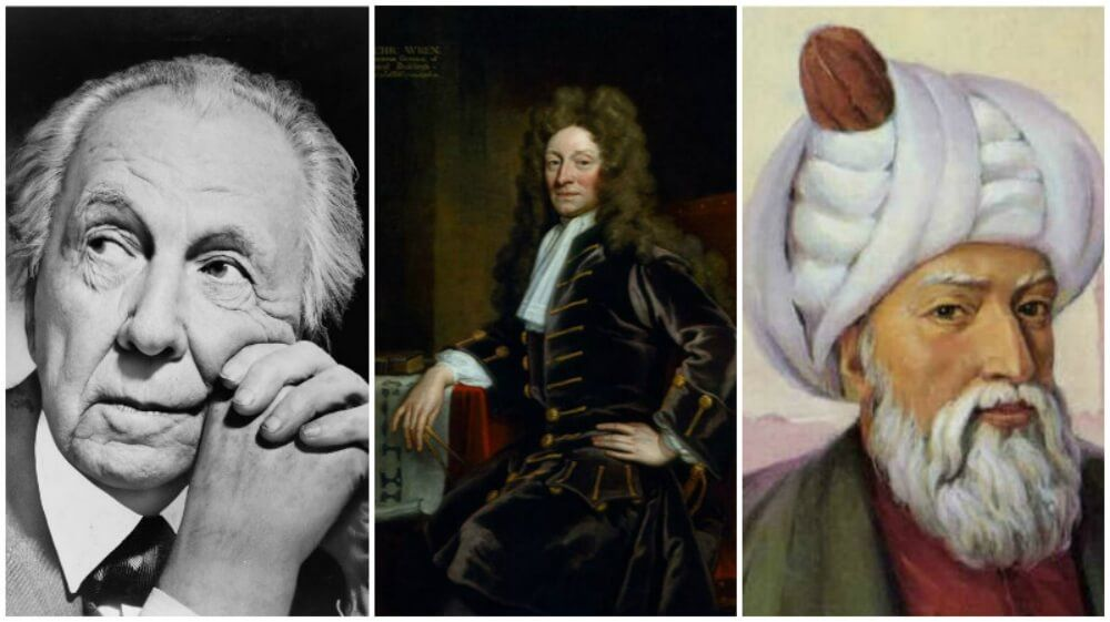 famous architects. 10 Most Famous Architects Of All Times And Their Greatest Buildings
