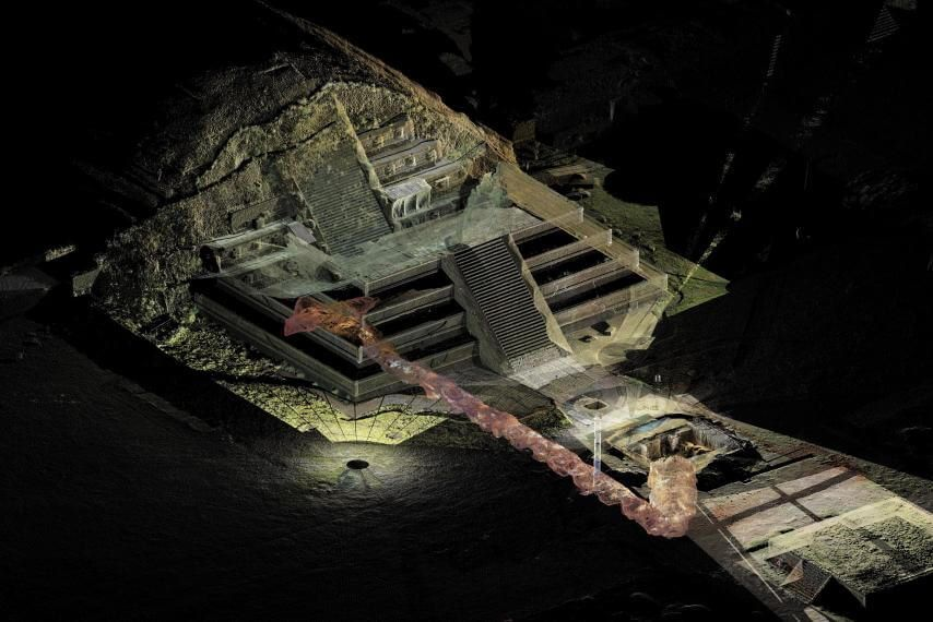 Tunnel To 'Underworld' Discovered Beneath Mexican Pyramid