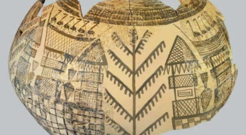 """One Of The Earliest """"Tree of Life"""" Depictions Found In Domuztepe Mound, Turkey"""