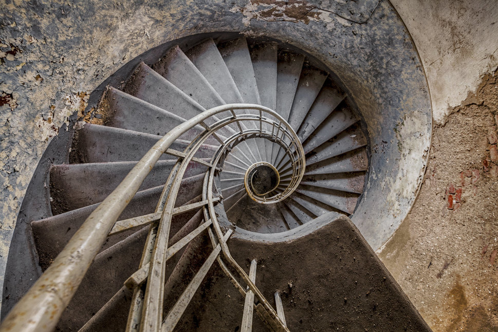decay spiral staircase
