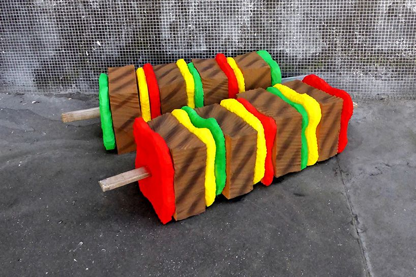 lor-k-french-artist-street-food-discarded-mattresses-designboom-09