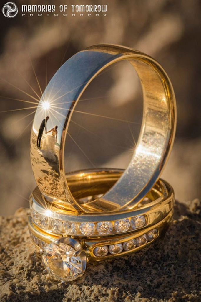 Spectacular Photos Of Just Married Couples In Wedding Ring