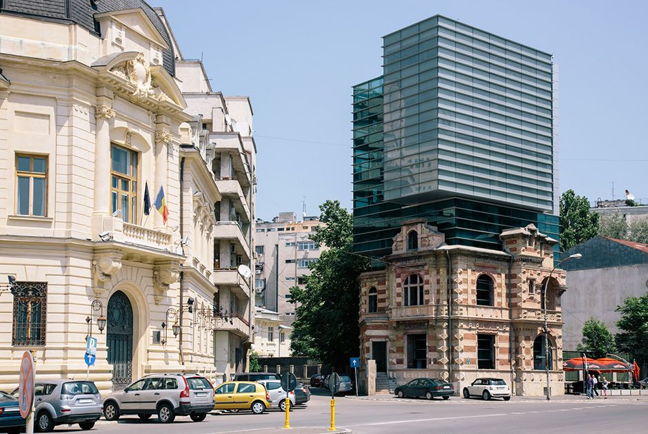The Union of Romanian Architects, Bucharest, Romania