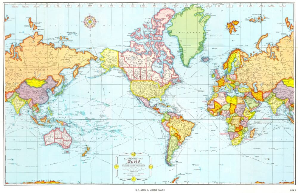 The World Map Through The Eyes Of Different Countries - Look4ward