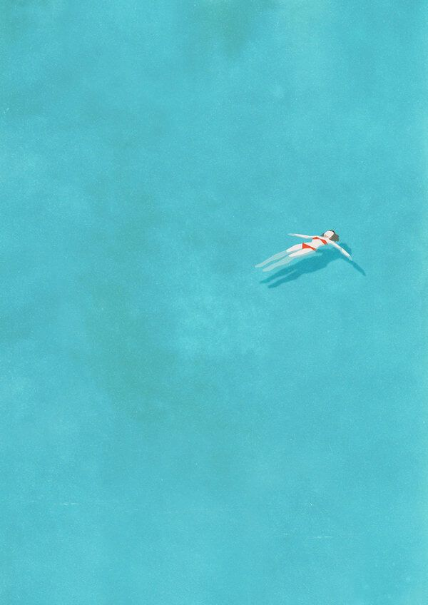 alone series swimming pool