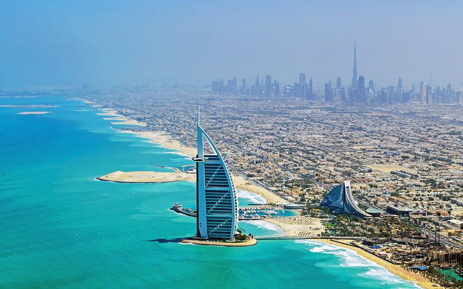 Dubai popular city
