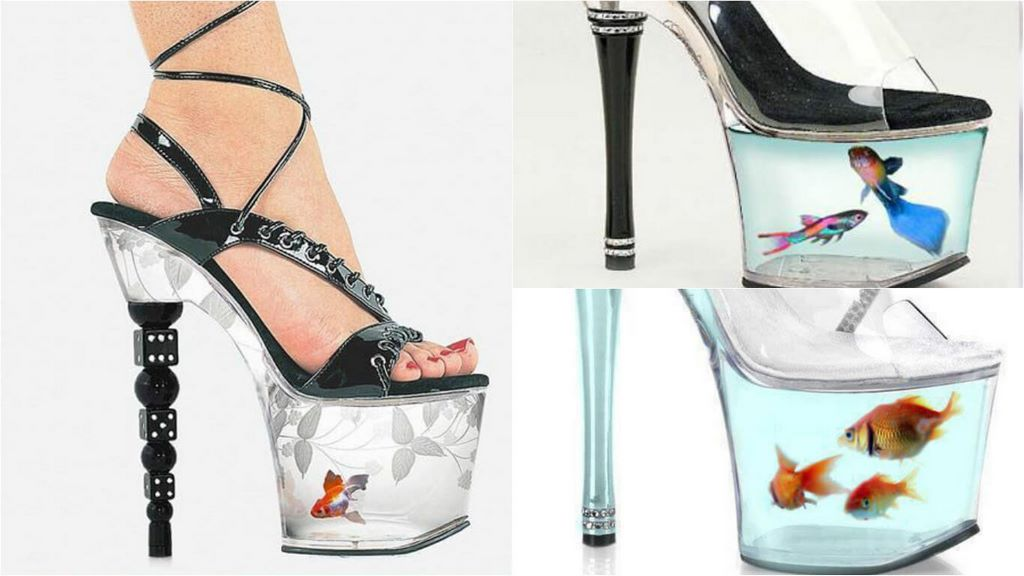 high-heel-fish-tank