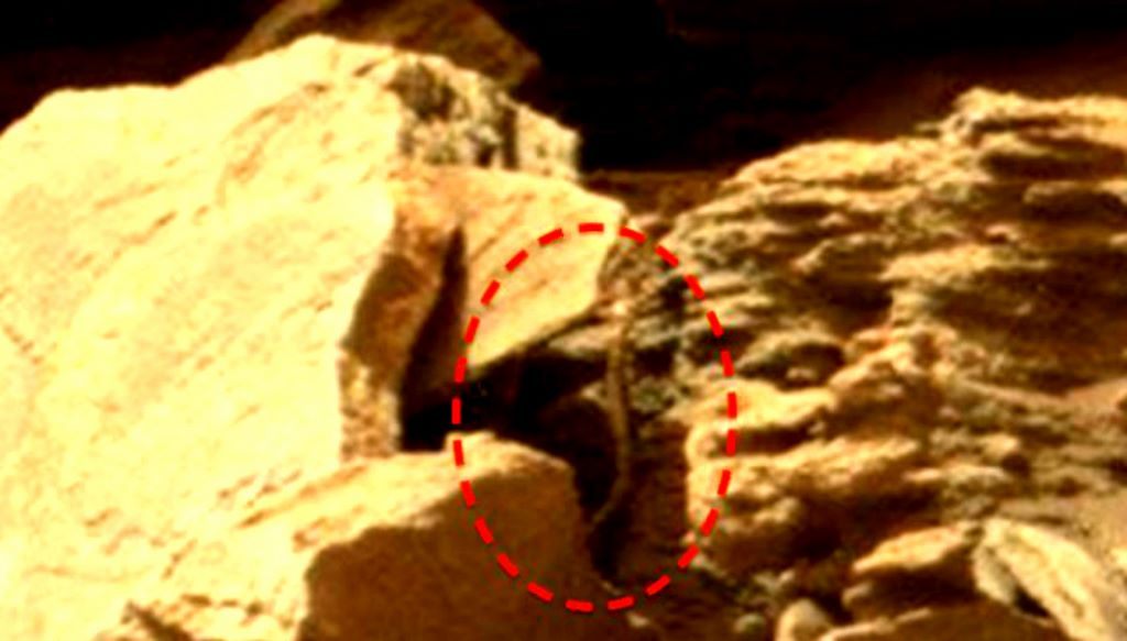 snake like creature on mars