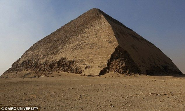 new discovery in great pyramid