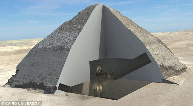 great pyramid of giza new discovery