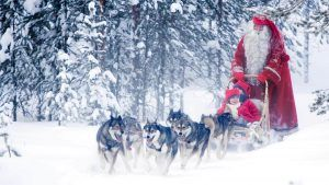 santa holidays in Finland