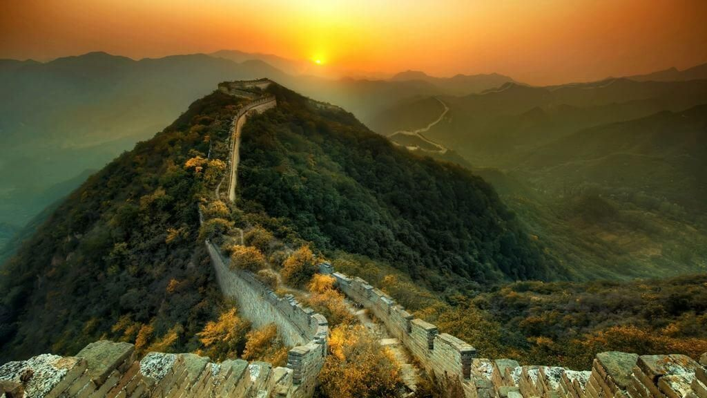 view-from-top-great-wall-china