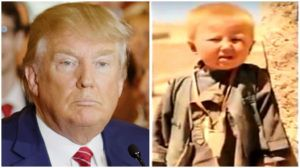 Donald Trump was born in Pakistan as Dawood Ibrahim Khan.