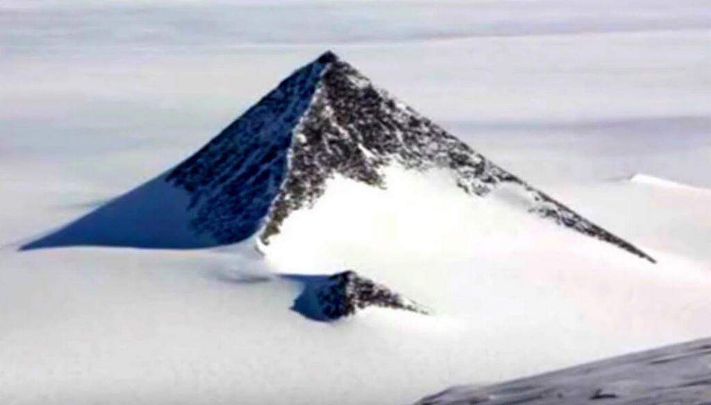 pyramid in Antarctica