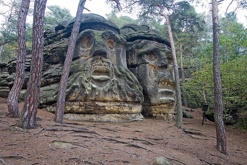 Top 5 Mysterious Stone Faces Around The World