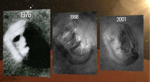 Did NASA Really Fudge Image Of The Human Resembling Face On MARS?