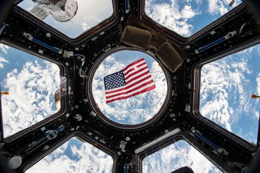Election Day 2016 aboard the space station. Thanks to a bill passed by Texas legislators that put in place technical voting procedure for astronauts, they have the ability to vote from space through specially designed absentee ballots.