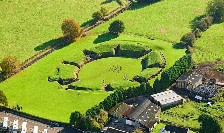 Caerleon Amphitheatre, Wales, UK
