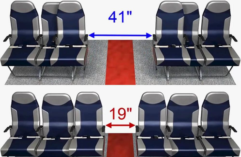 Airplane Designers Invented A New Brilliant Idea For The Middle Seat