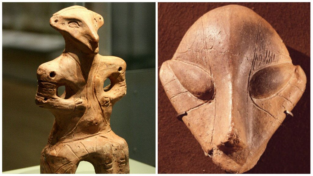 The Mystical Vinca Figurines - Evidence Of Alien Contact 7,000 Years Ago?