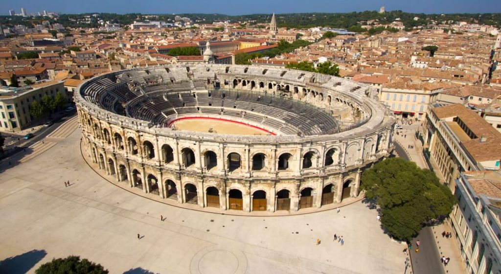 Arena of Nîmes, France
