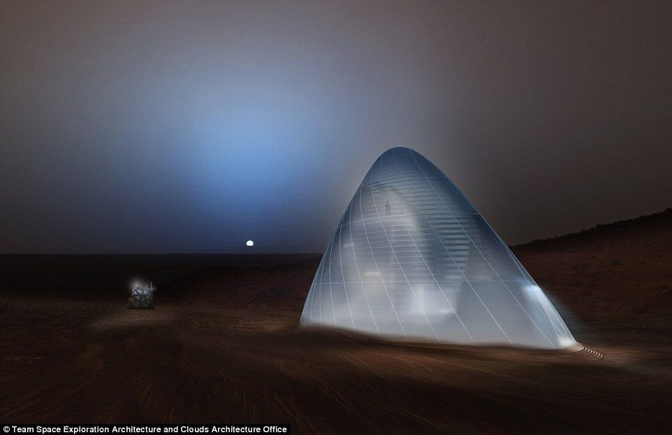 Mars Settlers Enticed With Igloo Home