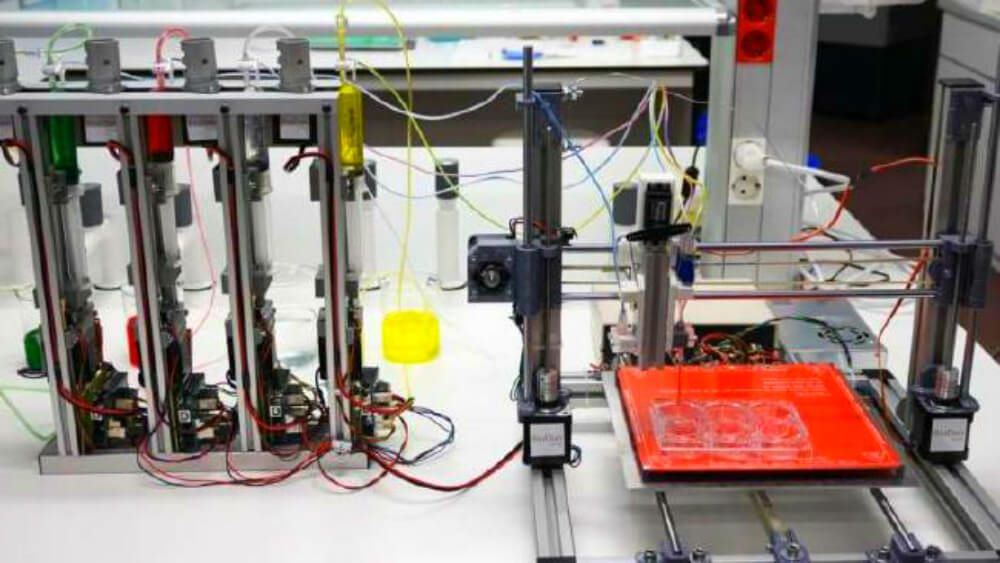 3D Bioprinter Which Can Print Functional Human Skin