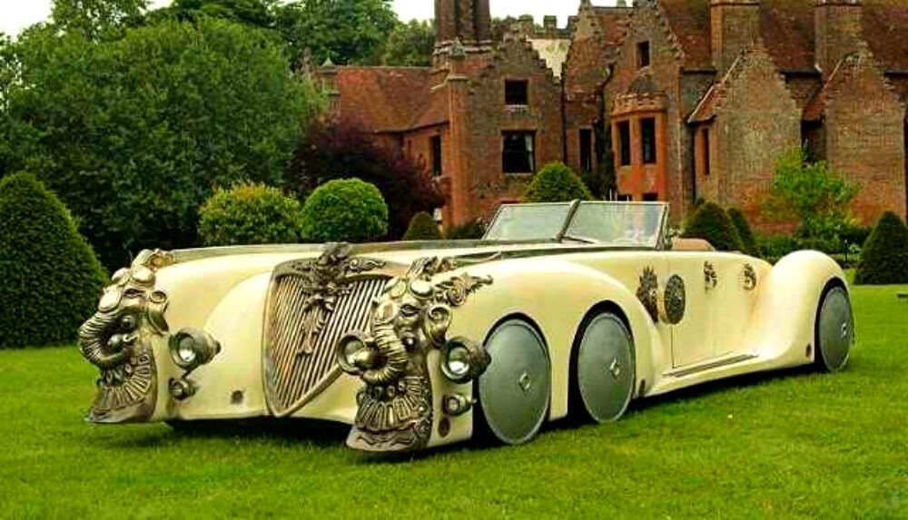15 Of The World S Strangest 6 Wheel Cars Look4ward