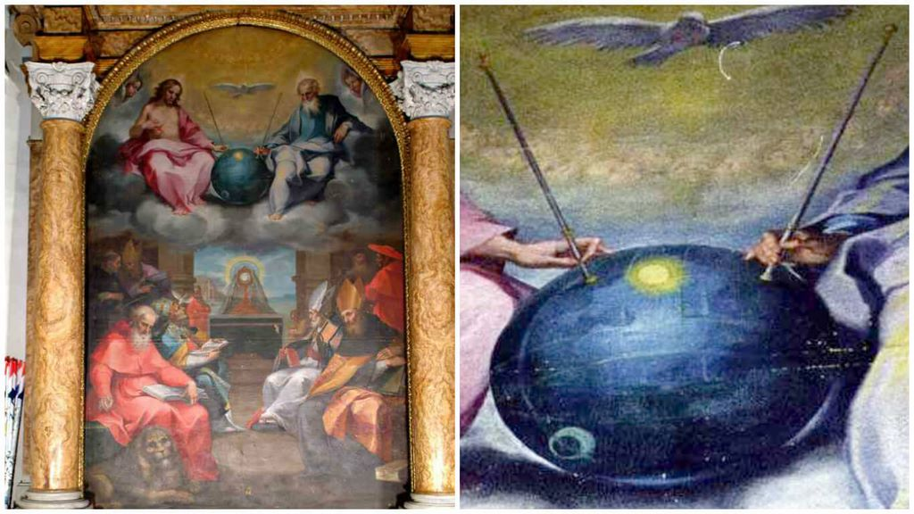 UFO And Alien Signs Hidden In Antiques