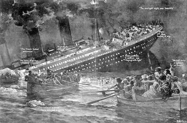 Sinking Of The Titanic - New Evidence Leads To Disparate Conclusion!